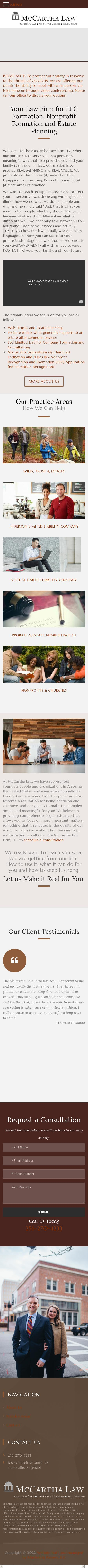 McCartha Law Firm, LLC - Huntsville AL Lawyers