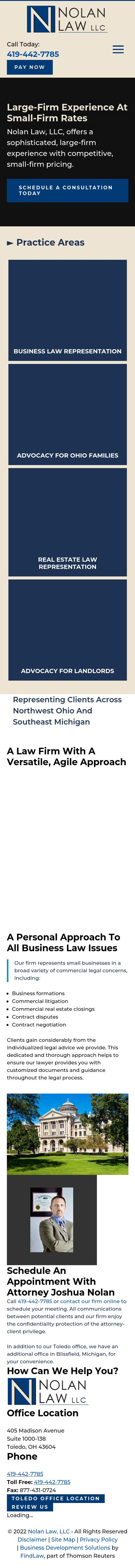 Nolan Law LLC - Toledo OH Lawyers