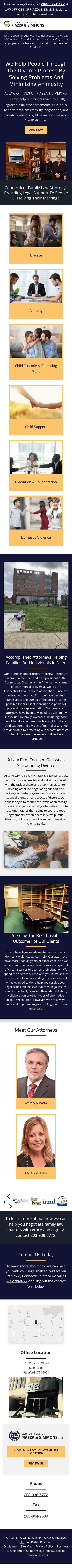 Piazza Simmons Grant LLC - Stamford CT Lawyers