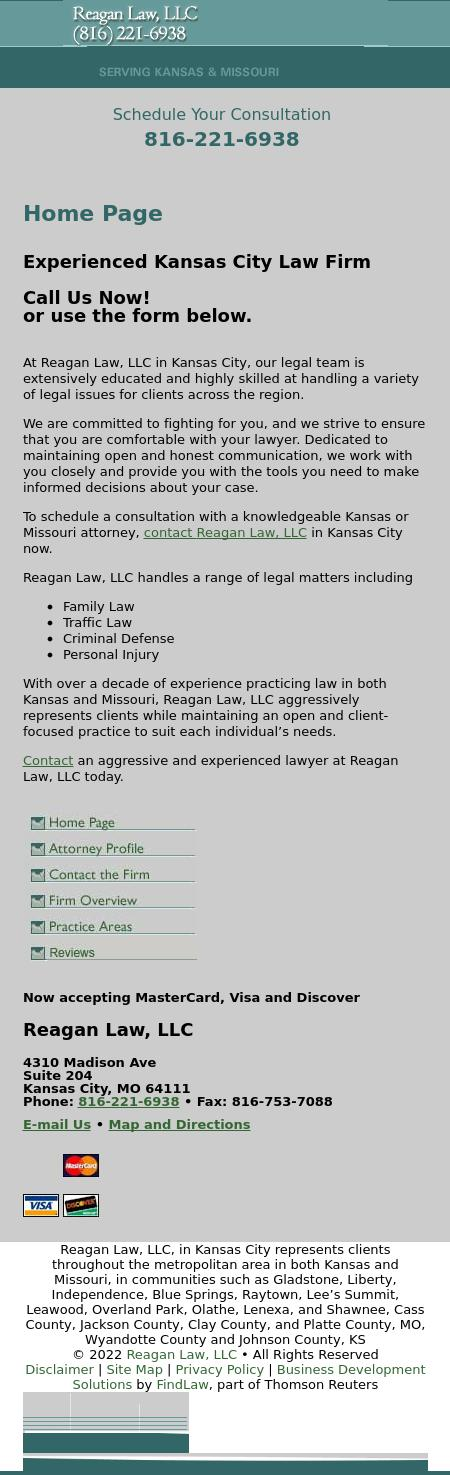 Reagan Law, LLC - Kansas City MO Lawyers