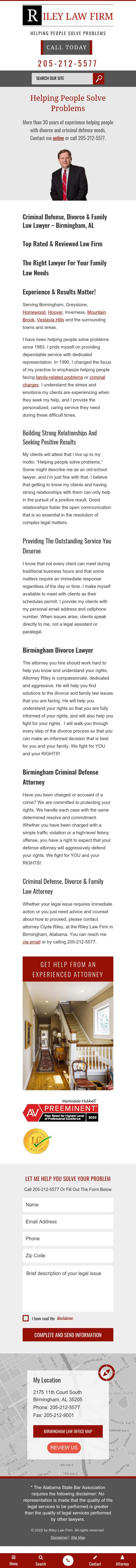 Riley Law Firm - Birmingham AL Lawyers