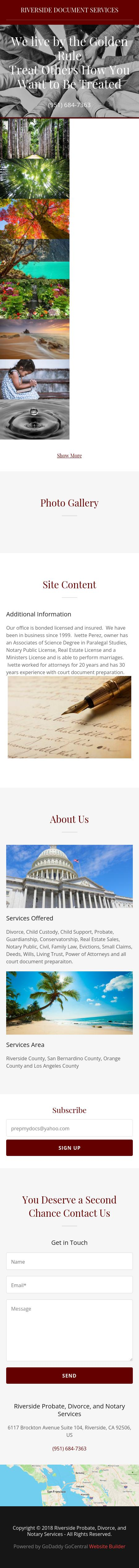 RiversideDocument Services - Riverside CA Lawyers