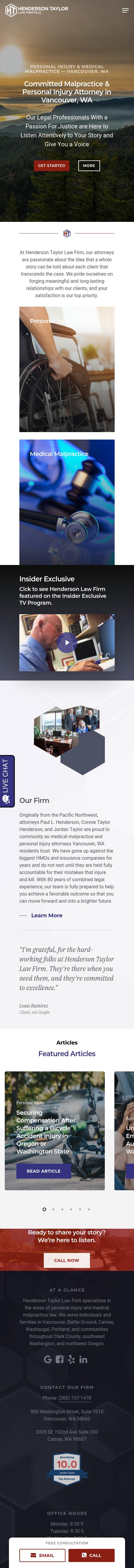 Scott Horenstein Law Firm PLLC - Vancouver WA Lawyers
