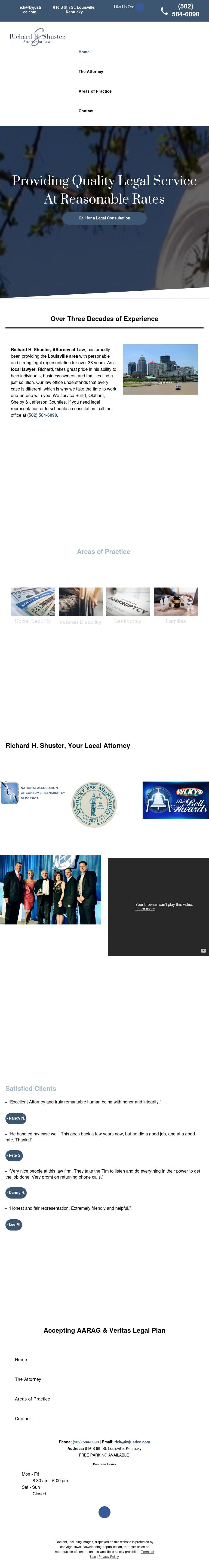 Shuster Richard - Louisville KY Lawyers