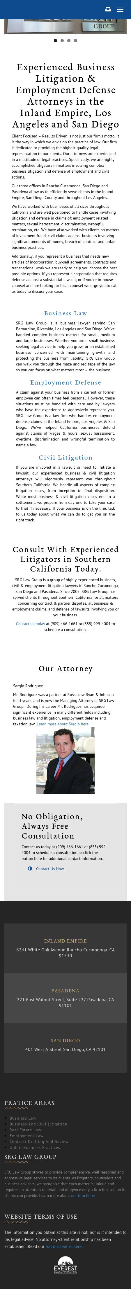 SRG Law Group - Rancho Cucamonga CA Lawyers
