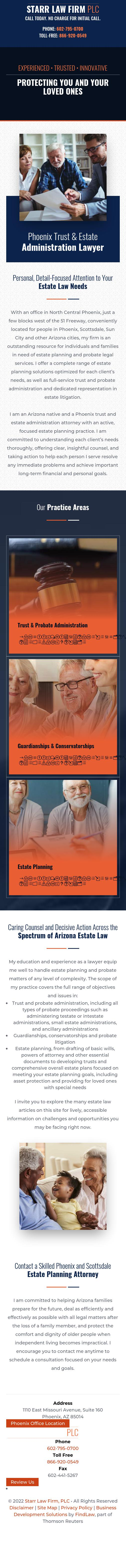Starr Law Firm, PLC - Phoenix AZ Lawyers