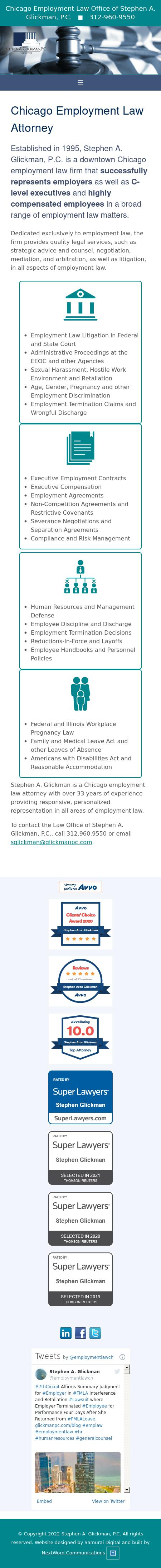 Stephen A. Glickman, P.C. - Chicago IL Lawyers