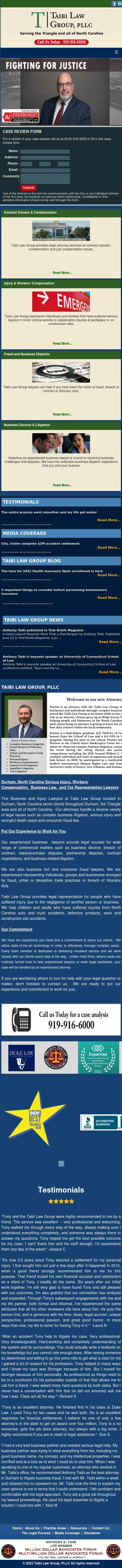 Taibi Law Group - Durham NC Lawyers