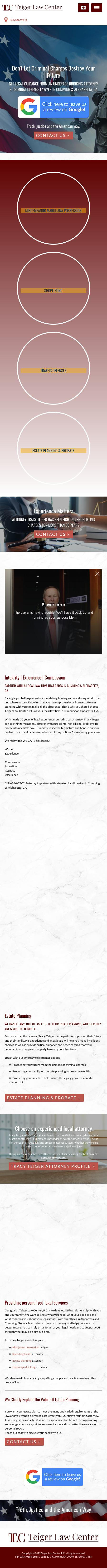 Teiger Law Center, P.C. - Alpharetta GA Lawyers