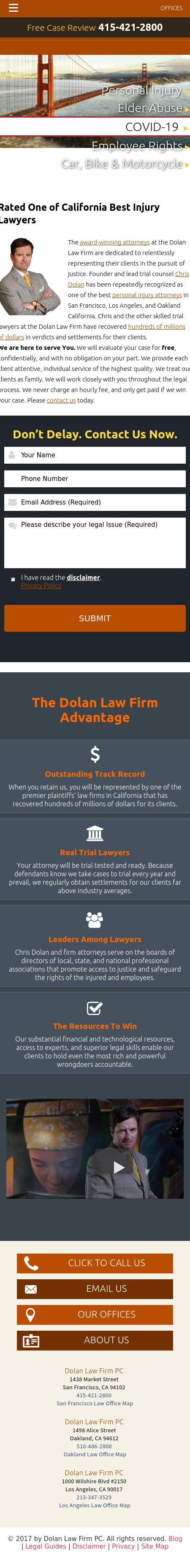 The Dolan Law Firm - Oakland CA Lawyers