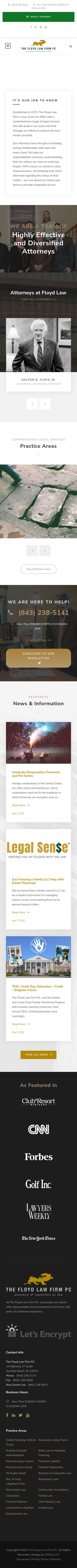 The Floyd Law Firm PC - Surfside Beach SC Lawyers