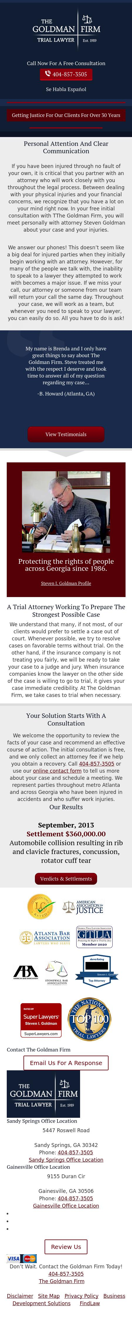 The Goldman Firm - Atlanta GA Lawyers