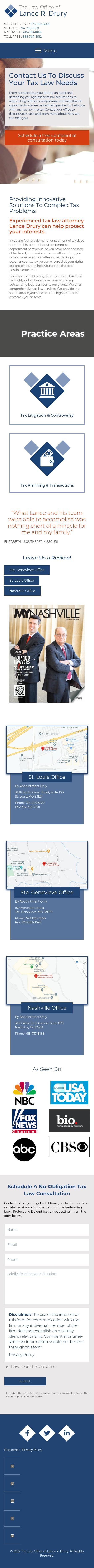 The Law Firm of Lance R. Drury - Ste. Genevieve MO Lawyers