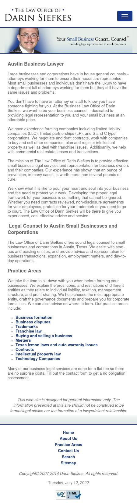 The Law Office of Darin Siefkes, PLLC - Austin TX Lawyers