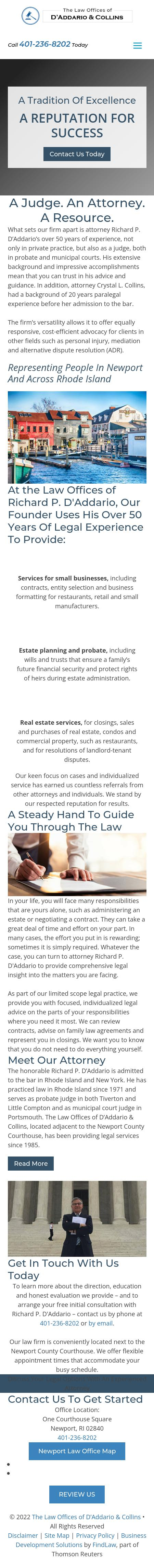 The Law Offices of Richard P. D'Addario - Newport RI Lawyers