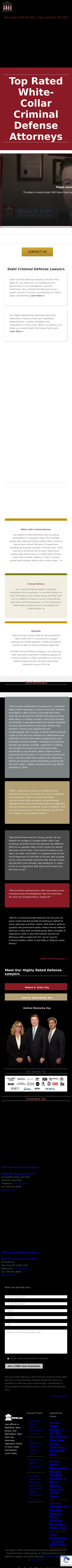 Stahl Criminal Defense Lawyers - New York NY Lawyers