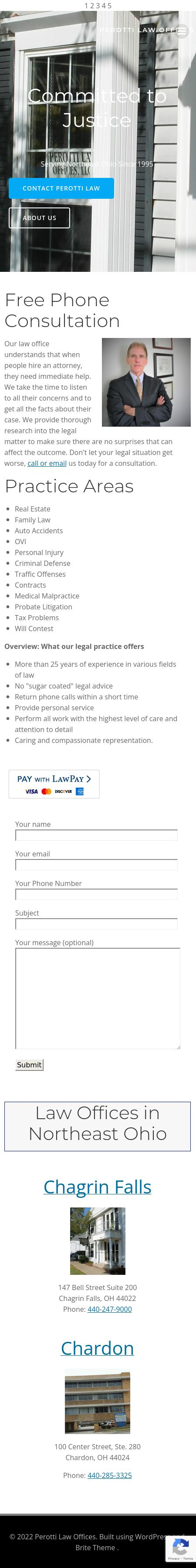 The Law Offices of Thomas I. Perotti - Cleveland OH Lawyers