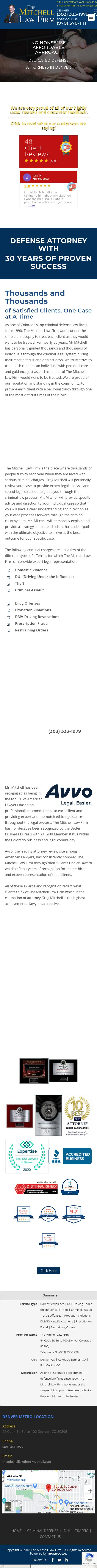 The Mitchell Law Firm - Denver CO Lawyers