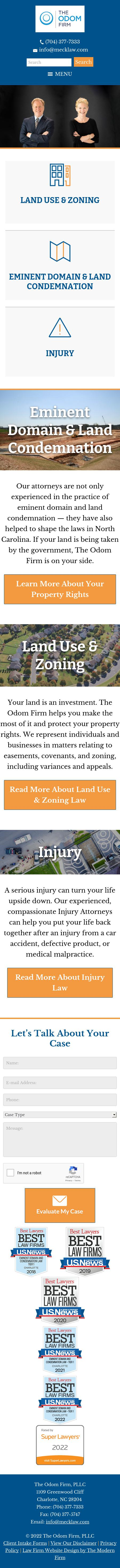 The Odom Firm, PLLC - Charlotte NC Lawyers