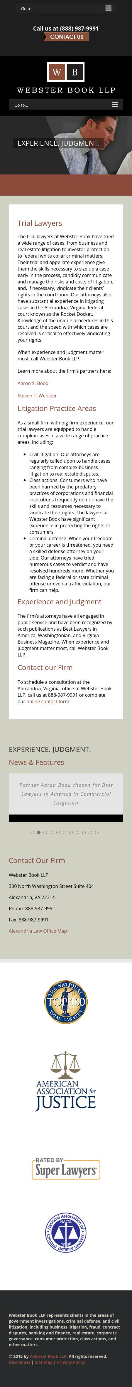 Webster Book LLP - Alexandria VA Lawyers