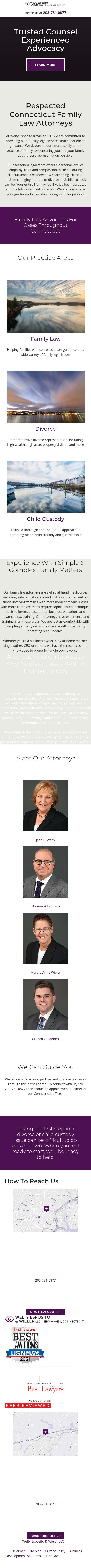 Welty Esposito & Wieler LLC Law Offices - New Haven CT Lawyers