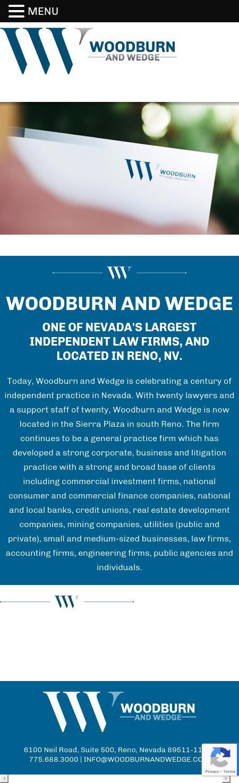 Woodburn & Wedge | Reno NV Law | LawyerLand