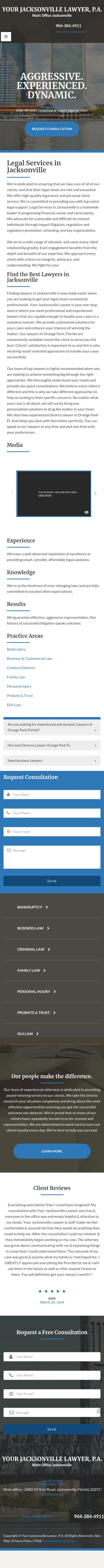 Your Jacksonville Lawyer - Jacksonville FL Lawyers