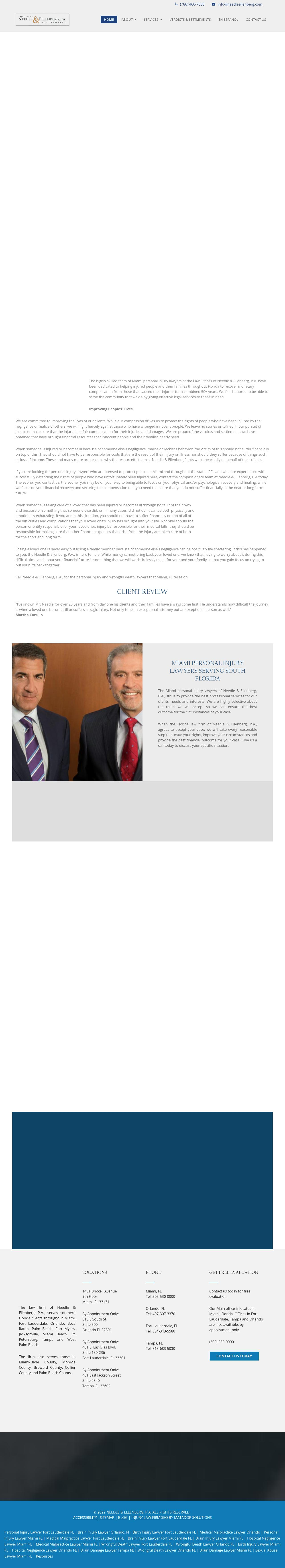 Needle & Ellenberg, P.A. - Miami FL Lawyers