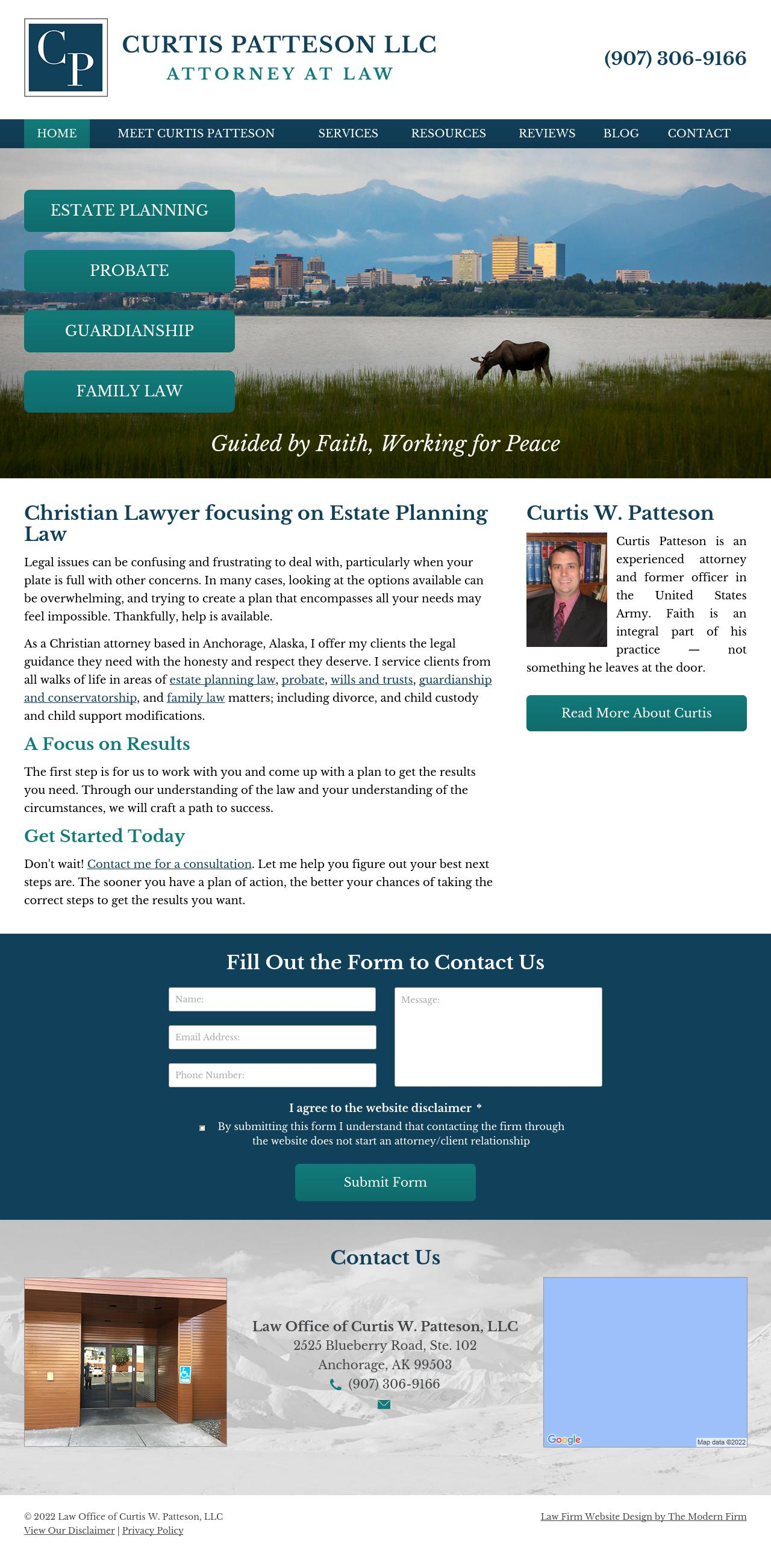 Patteson Curtis W Law Office of LLC - Anchorage AK Lawyers