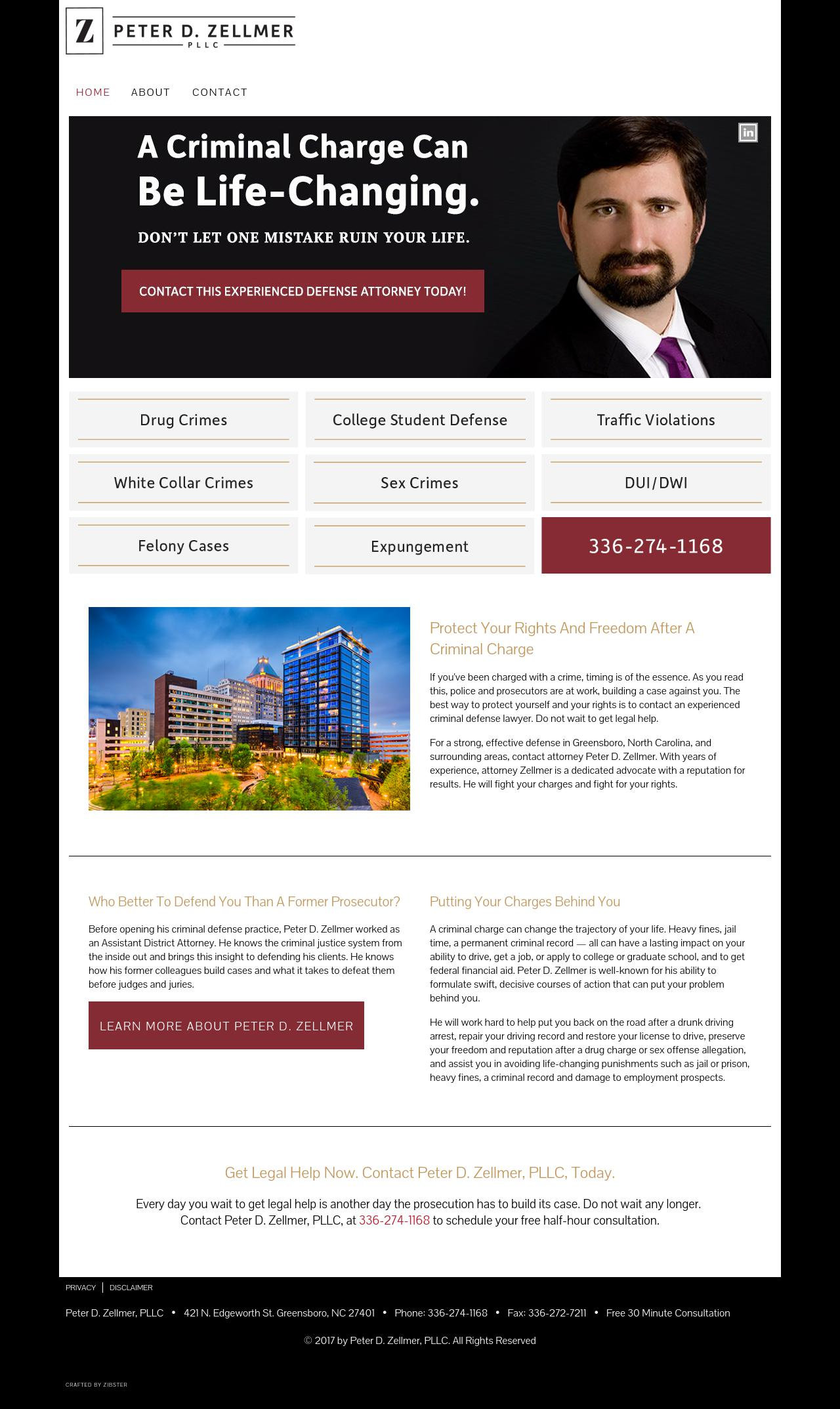 Peter D  Zellmer, PLLC | Greensboro NC Law | LawyerLand