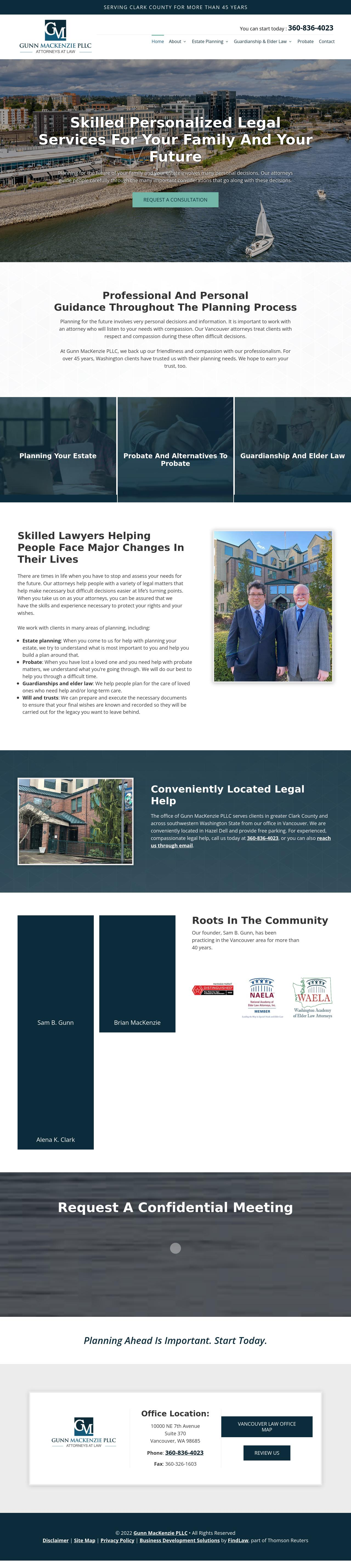 Sam B. Gunn Law Firm PLLC - Vancouver WA Lawyers