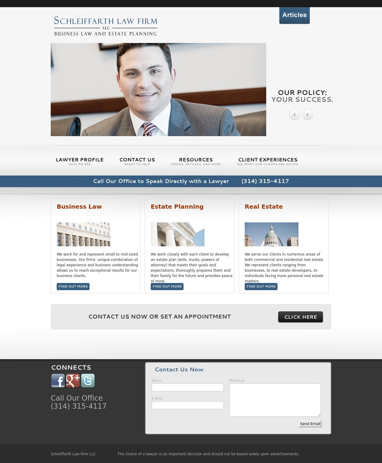Schleiffarth Law Firm LLC - St. Louis MO Lawyers
