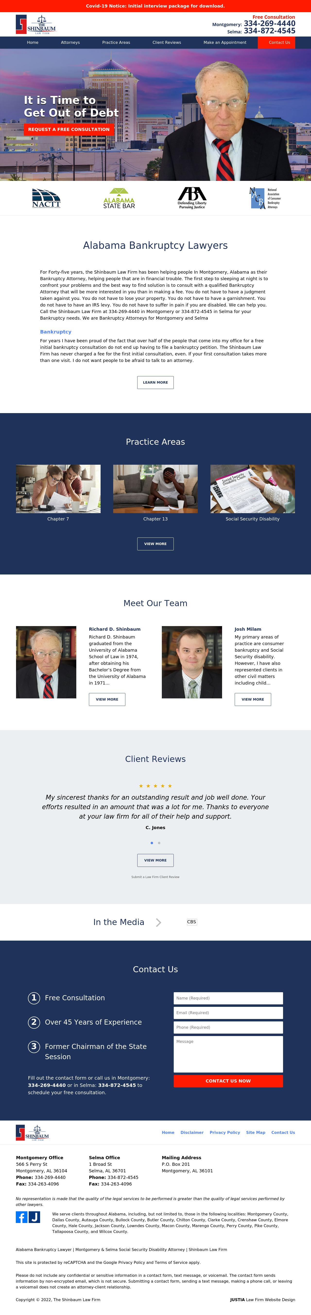 Shinbaum Law Firm - Montgomery AL Lawyers