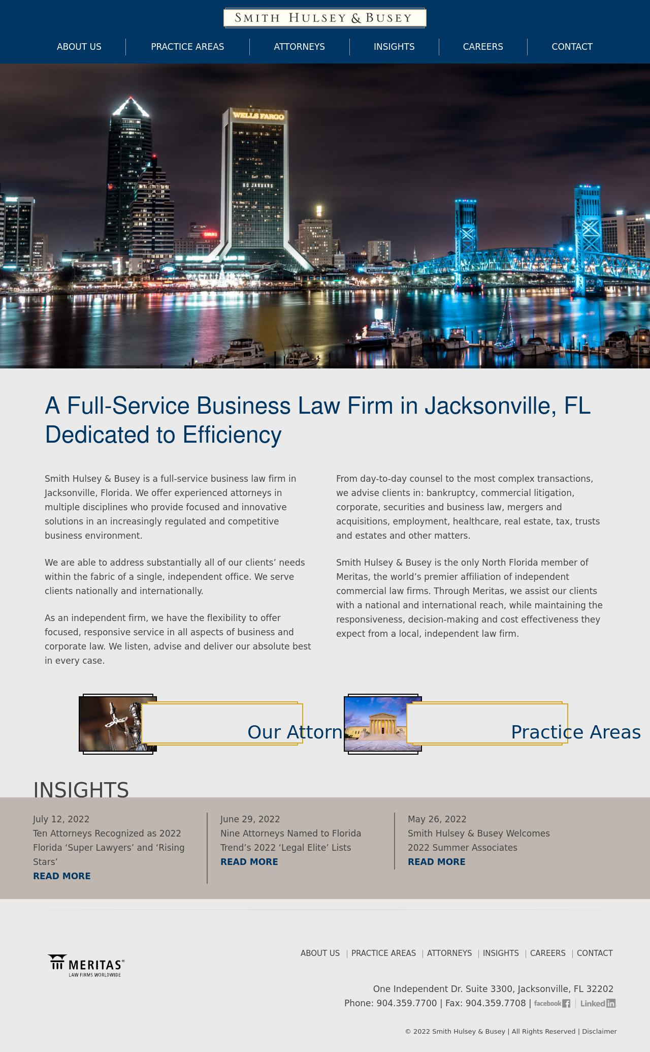 Smith Hulsey & Busey - Jacksonville FL Lawyers