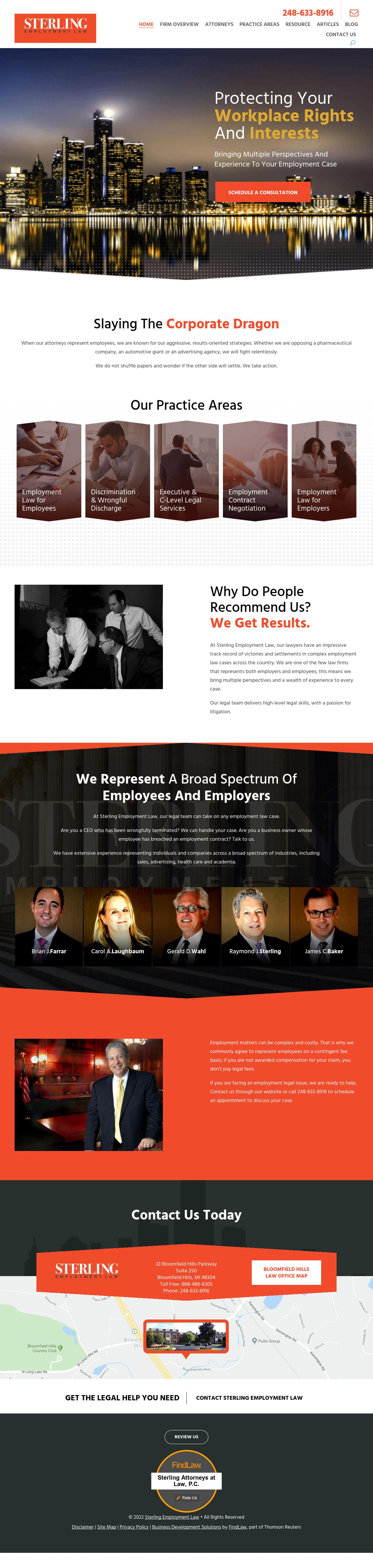 Sterling Attorneys at Law, P.C. - Bloomfield Hills MI Lawyers