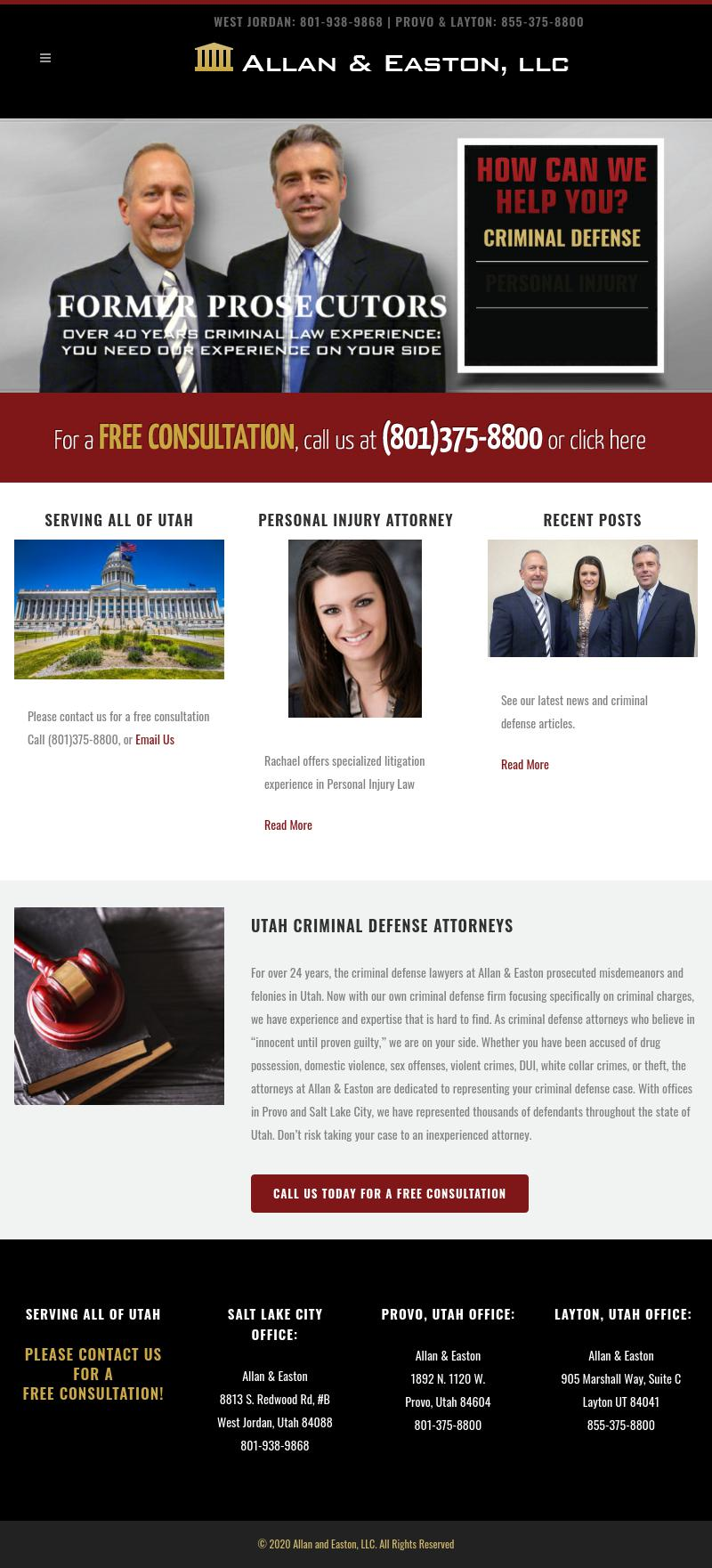 Allan & Easton LLC - Provo UT Lawyers