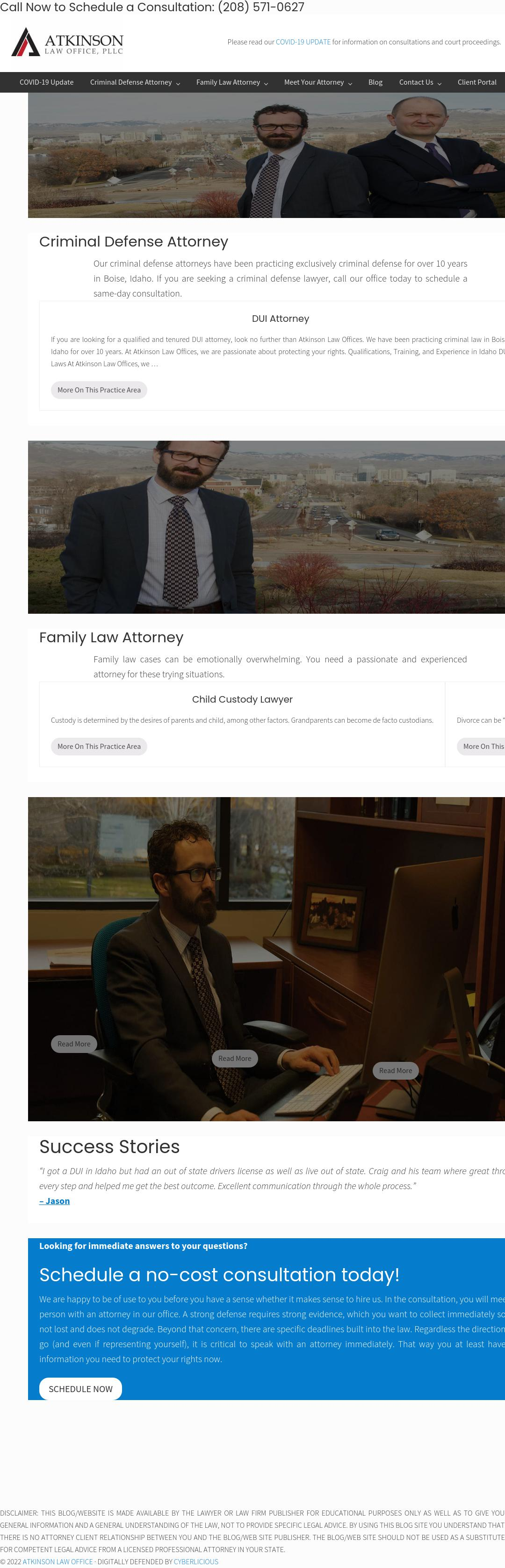 Atkinson Law Office, PLLC - Boise ID Lawyers
