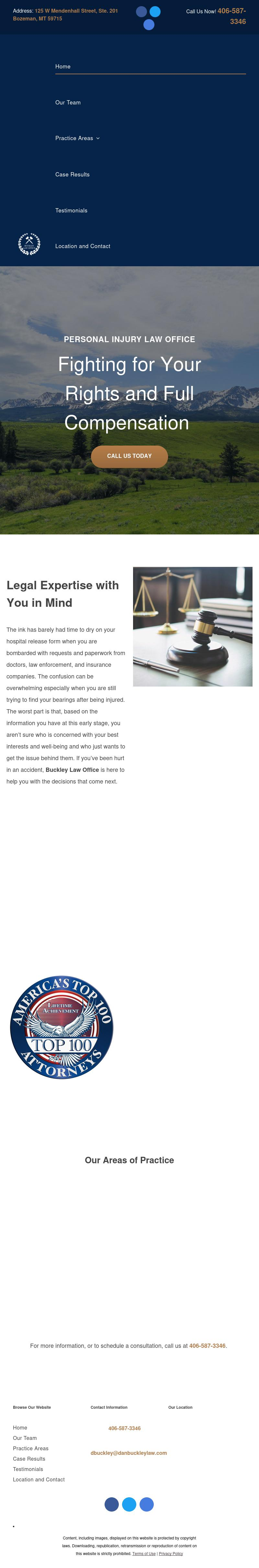 Buckley Law Office, P.C. - Bozeman MT Lawyers