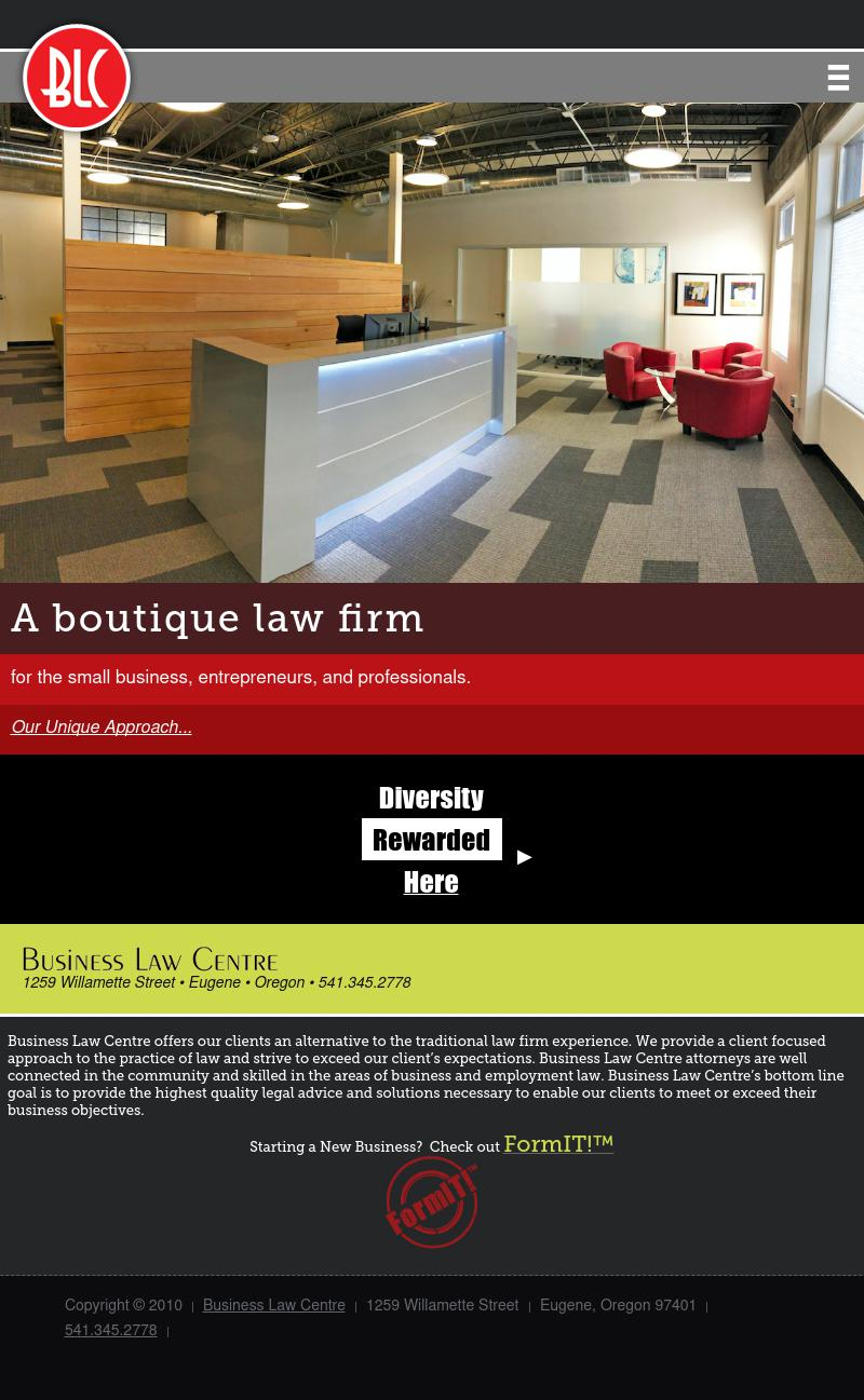 Business Law Centre - Eugene OR Lawyers
