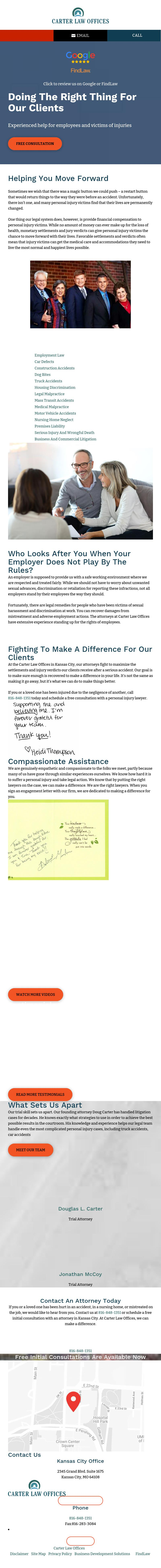 Carter Law Offices - Kansas City MO Lawyers