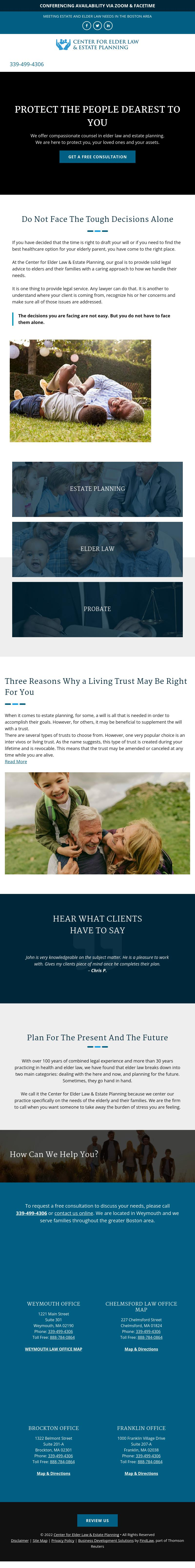 Center For Elder Law & Estate Planning - Brockton MA Lawyers