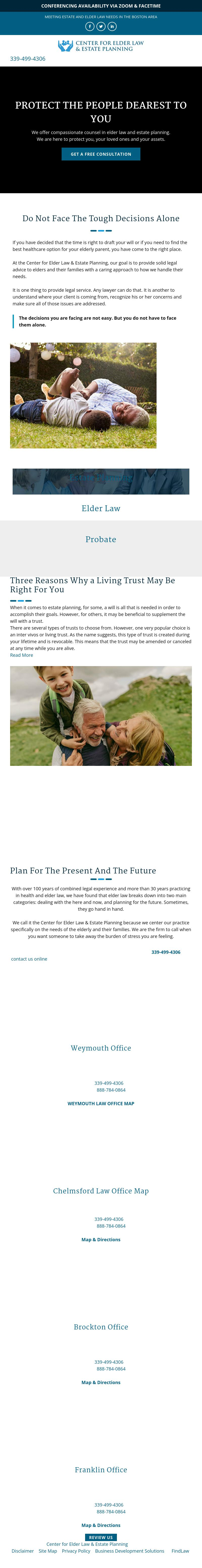 Center For Elder Law & Estate Planning - Chelmsford MA Lawyers