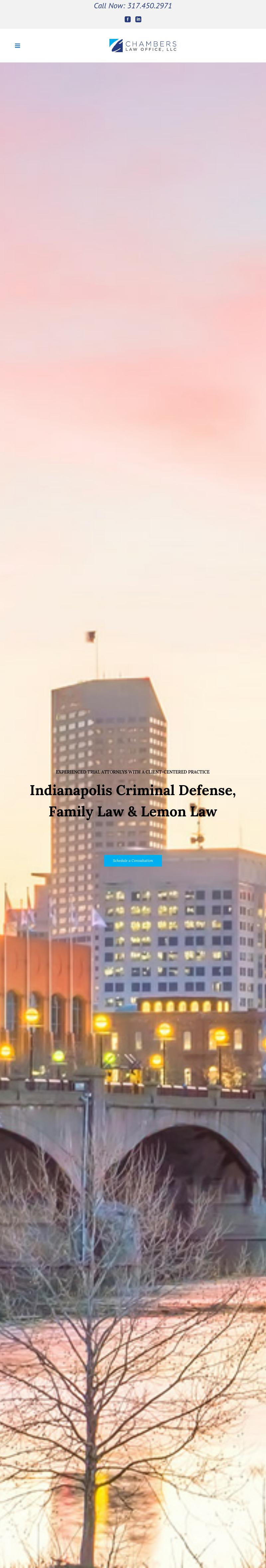 Chambers Law Office, LLC - Indianapolis IN Lawyers