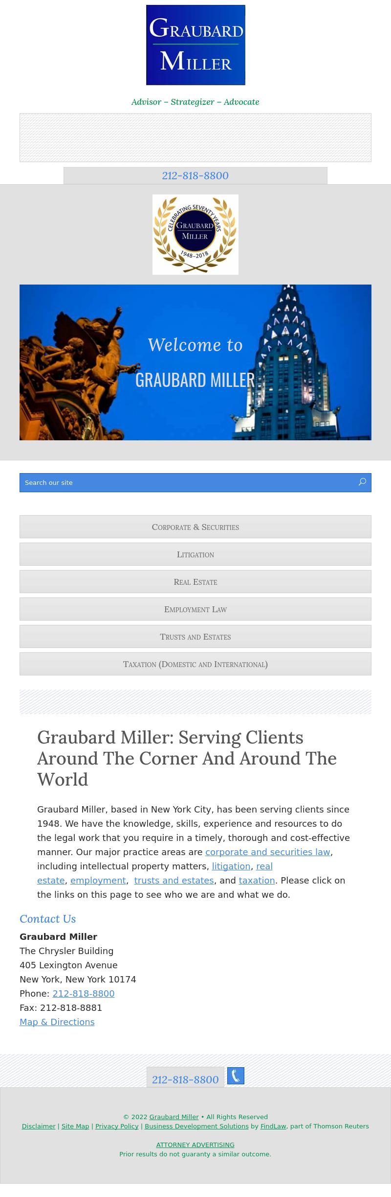 Graubard Miller - New York NY Lawyers