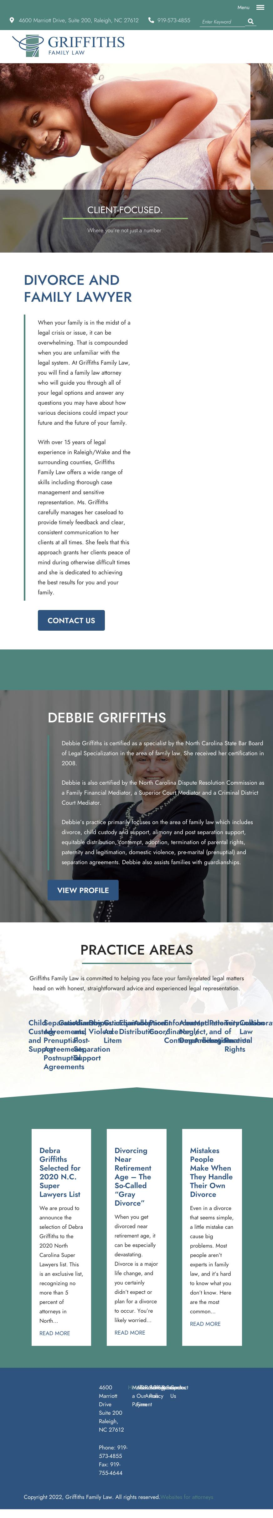 Griffiths Family Law - Raleigh NC Lawyers