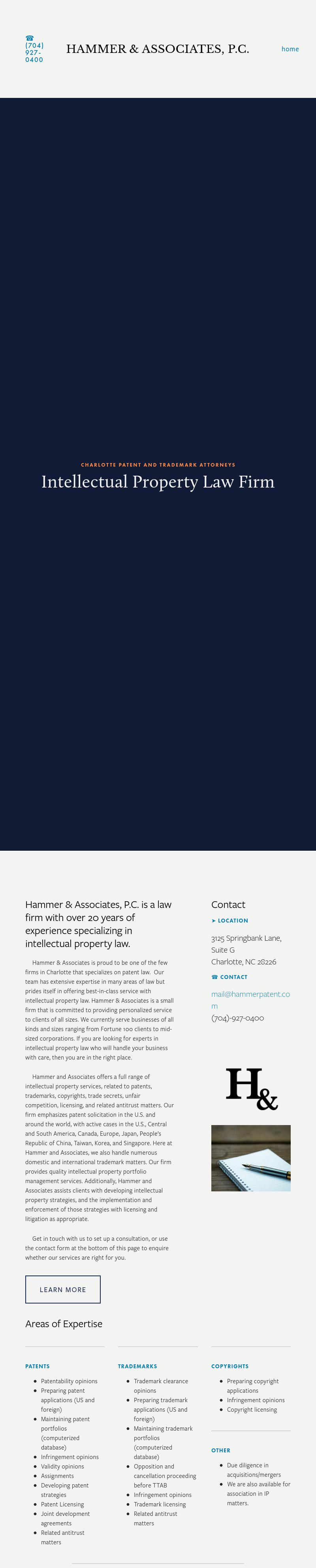 Hammer LNFN & Associates Pc - Charlotte NC Lawyers