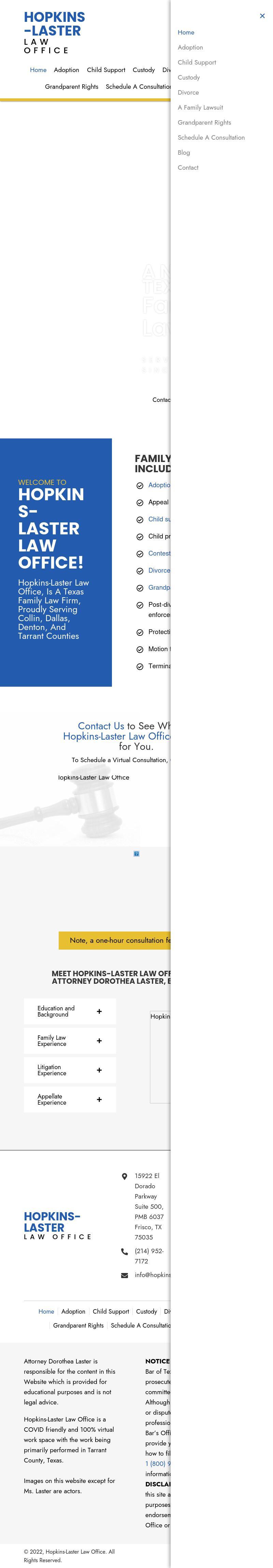 Hopkins-Laster Law Office - Lake Dallas TX Lawyers