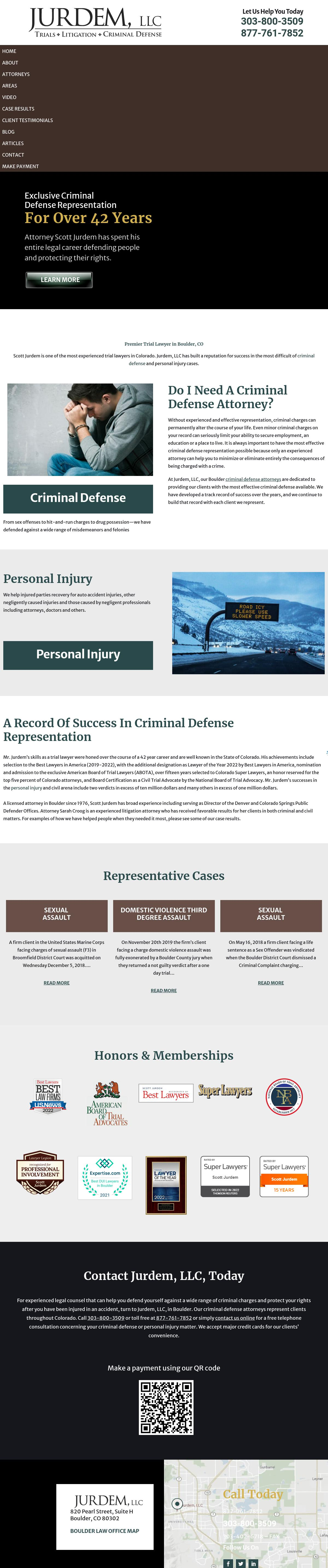 Jurdem, LLC - Boulder CO Lawyers