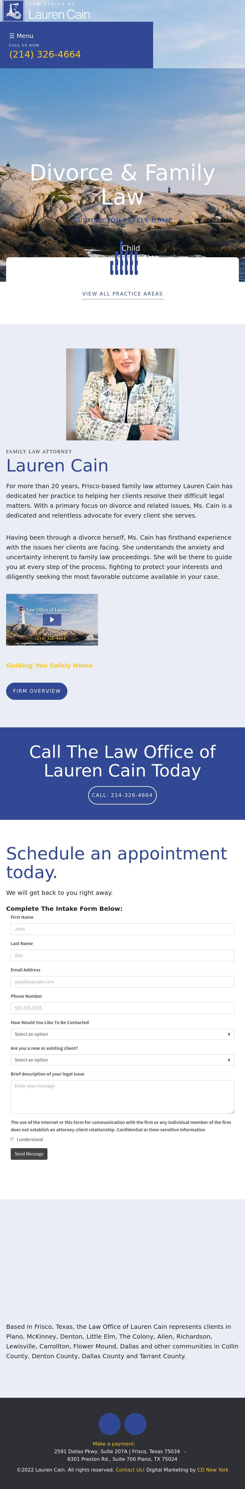 Law Office of Lauren Cain - Frisco TX Lawyers