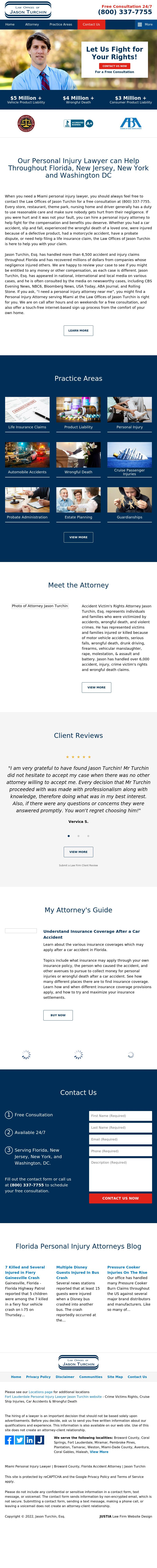 Law Offices of Jason Turchin - Miami FL Lawyers